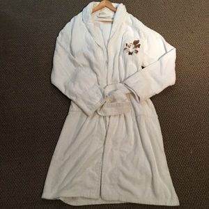 5 for $20 Disney White Robe L/XL